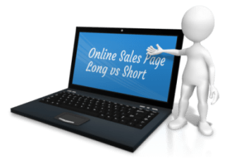 Online Sales Page, Long vs Short
