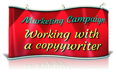 working with a freelance copywriter on your marketing campaign (Anderson, CA)